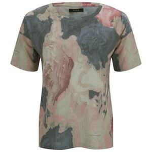 VILA Women's Ghost T-Shirt - Apricot Blush