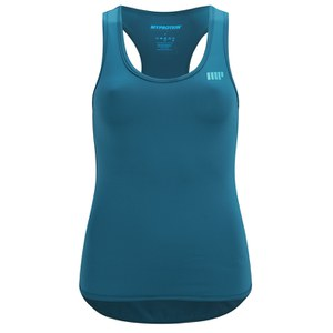 Myprotein Racer Back Scoop Linne Kvinnor - Teal