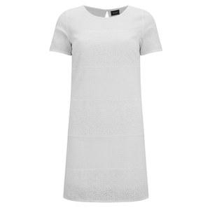 VILA Women's Ninni Dress - Snow White
