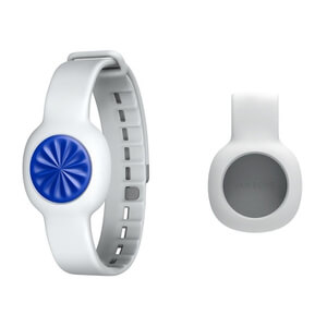 Jawbone UP Move Wireless Activity and Sleep Tracker - Clip & Strap Bundle - Blue Burst
