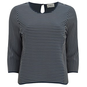 Vero Moda Women's Ingrid Nautical Top - Black Iris