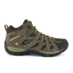 Columbia Men's Redmond Mid Waterproof Hiking Boots - Brown/Banana