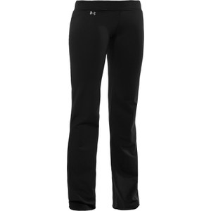 Under Armour Women's Perfect Studio Pants - Black/Metallic Pewter