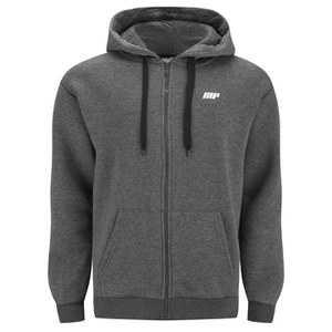Myprotein Zip Up Hoodie Herrar – Charcoal
