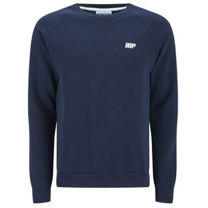 Myprotein Men's Crew Neck Sweatshirt – Navy