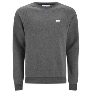 Myprotein Men's Crew Neck Sweatshirt – Charcoal