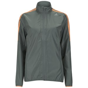 adidas Response Women's Jacket - Vista Grey/Flash Orange