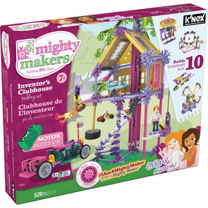 K'NEX Mighty Makers Inventors Clubhouse Building Set (43553)