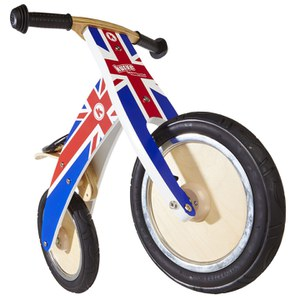 Kiddimoto Union Jack Kurve Bike