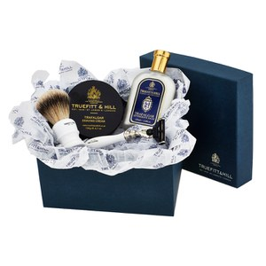 Truefitt & Hill Luxury Edition 1805: Bowl, Balm, Razor and Brush Set
