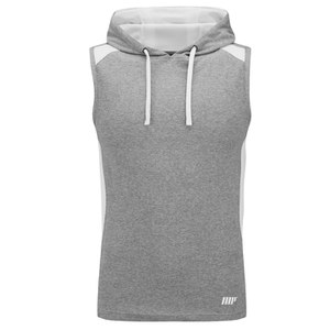 Myprotein, Men's Hooded Singlet, Grey