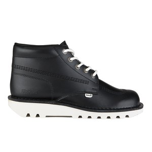 Kickers Men's Kick Hi Boots - Black/White