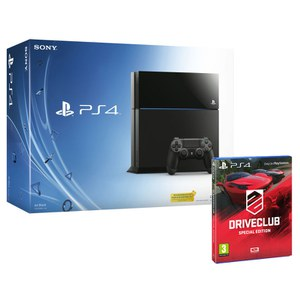 Sony PlayStation 4 500GB Console - Includes Driveclub: Special Edition