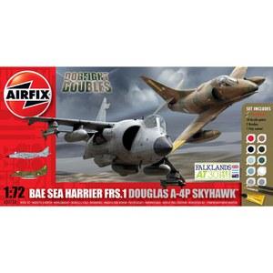 Airfix Douglas A-4P Skyhawk BAe Sea Harrier FRS-1