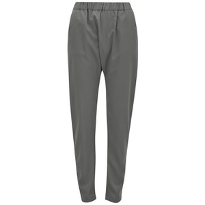 Vero Moda Women's Easy Harem Trousers - Pewter