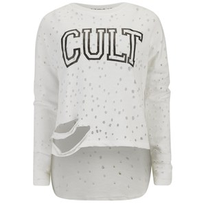 Religion Women's Cult Top - White