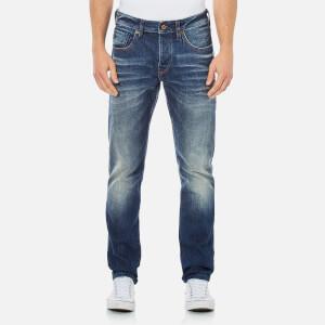 Scotch & Soda Men's Ralston Slim Fit Washed Denim Jeans - Admiral Blue