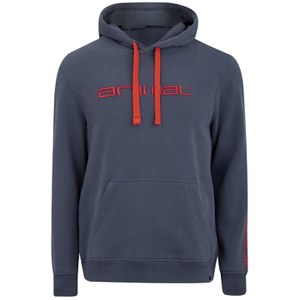 Animal Men's Luna Hoody - Indigo Blue