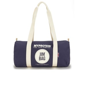 Myprotein Jim Bag Canvas Barrel Bag - Navy