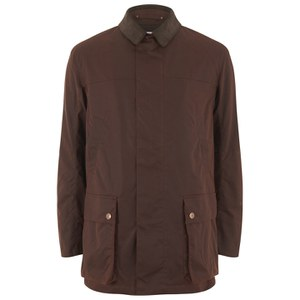 Private White VC Men's Wax Cotton Shooting Jacket - Rust