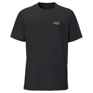 Jack Wolfskin Men's Essential Function T-Shirt - Black