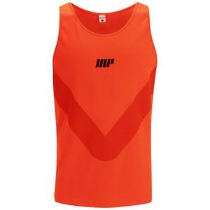 Myprotein Men's Racer Back Running Vest  - Orange