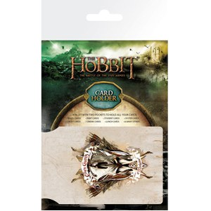The Hobbit Battle of the Five Armies Crest Card Holder