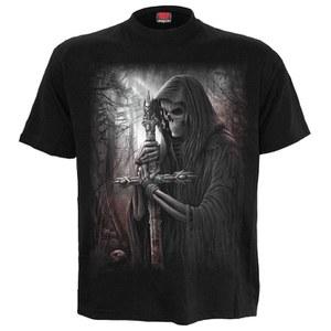 Spiral Men's SOUL SEARCHER Plus Size T-Shirt - Black