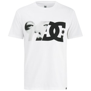 DC Men's Brickline Printed Short Sleeve T-Shirt - White