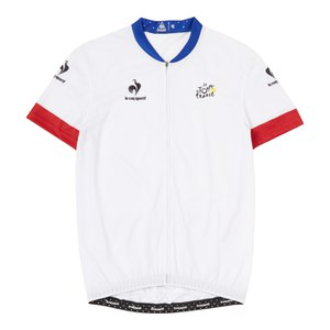Le Coq Sportif Tour de France 2015 Leaders Official Specific Jersey - White