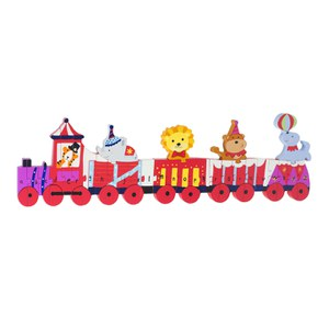 Orange Tree Toys Circus Alphabet Train Puzzle