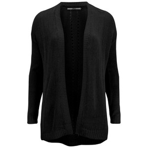 ONLY Women's Assisi Long Sleeve Cardigan - Black