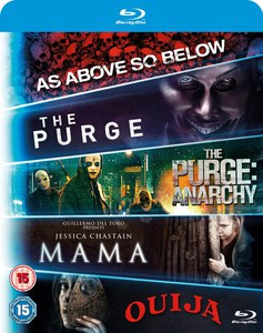 Blu-ray Starter Pack - Mama, Purge 1, Purge: Anarchy, OUIJA, As Above, So Below