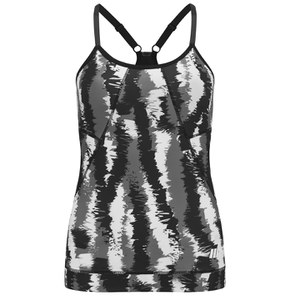 Myprotein Women's FT Graffiti Tank Top – Black Stroke