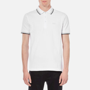 BOSS Green Men's Paddy Basic Polo Shirt - White