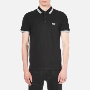 BOSS Green Men's Paddy Basic Polo Shirt - Black
