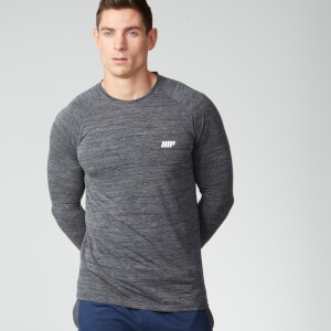 Myprotein Men's Performance Long Sleeve Top - Black