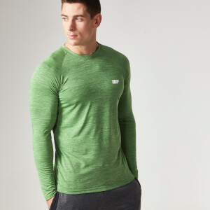 Myprotein 运动表现系列男士长袖运动上衣– 绿色