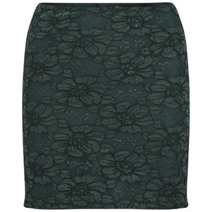 Selected Femme Women's Nella Lace Skirt - Scarab