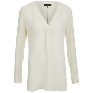 Selected Femme Women's Lind Top - Jet Stream