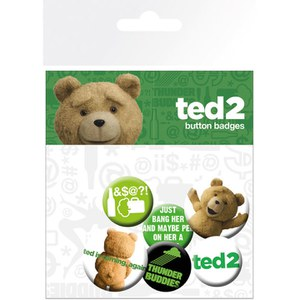 Ted 2 Mix Badge Pack