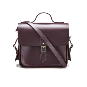 The Cambridge Satchel Company Women's Large Traveller Bag with Side Pockets - Port