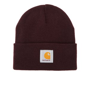 Carhartt Short Watch Hat - Acrylic Damson