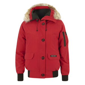 Canada Goose Women's Chilliwack Bomber Jacket - Red