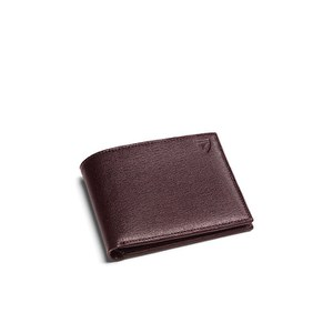 Aspinal of London Billfold Wallet - Brown Espresso