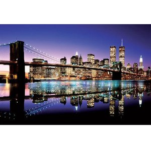 New York Brooklyn Bridge - 24 x 36 Inches Maxi Poster