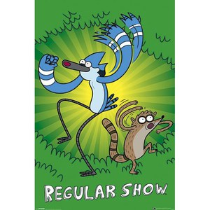 Regular Show Green - 24 x 36 Inches Maxi Poster