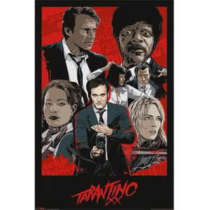 Tarantino Xx One Sheet - 24 x 36 Inches Maxi Poster