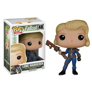 Fallout POP! Games Vinyl Figura Lone Wanderer Female