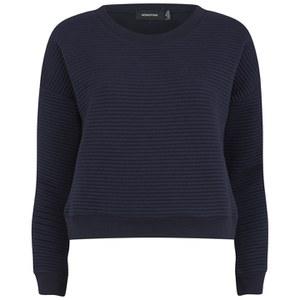 MINKPINK Women's Take Care Rib Sweatshirt - Navy